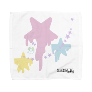 星と…モジャリティーヌ  バージョン Towel handkerchiefs