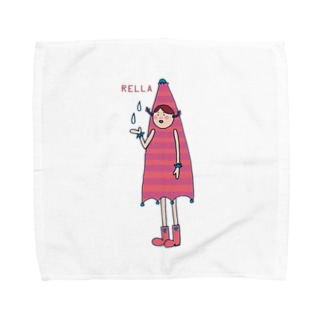 レーラ(ボーダー柄) Towel handkerchiefs