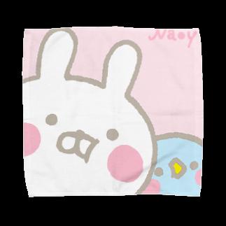 Naoyのうさひな Towel handkerchiefs