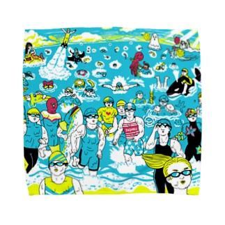 トライアスロン Towel handkerchiefs
