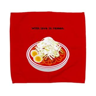 ラーメンハンカチ辛 Towel handkerchiefs