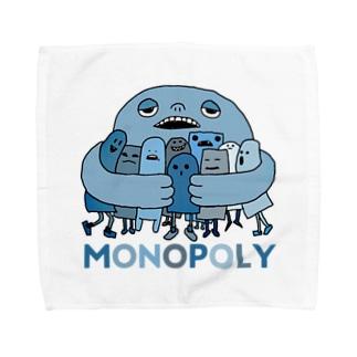 独り占め Towel handkerchiefs