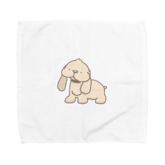 コッカー Towel handkerchiefs