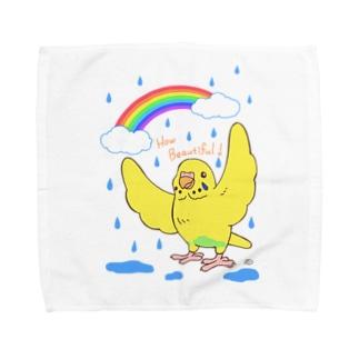 RAINBOW Towel handkerchiefs