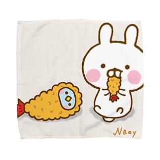 えびふらいになりたい Towel handkerchiefs