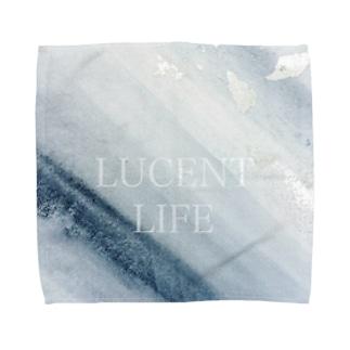 Sumi - Silver leaf Towel handkerchiefs