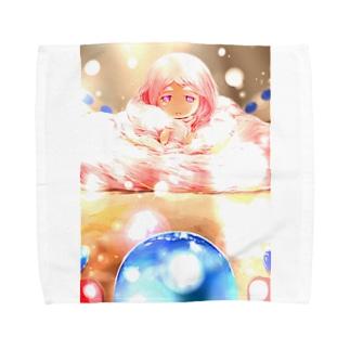 闘技演武【公式グッズ】MWF16地下遺跡の守護神ナナエル Towel handkerchiefs
