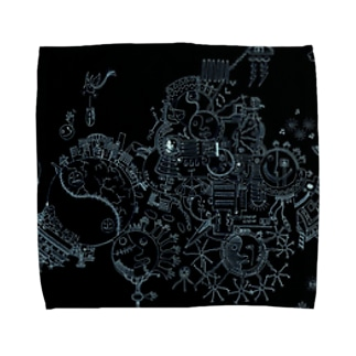 虚夢 Towel handkerchiefs