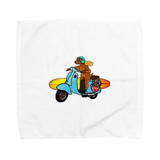 Coda surfdog Towel handkerchiefs