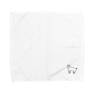 猫のなすちゃん Towel handkerchiefs