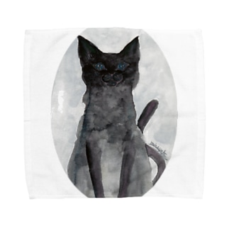 May Black cat Towel handkerchiefs