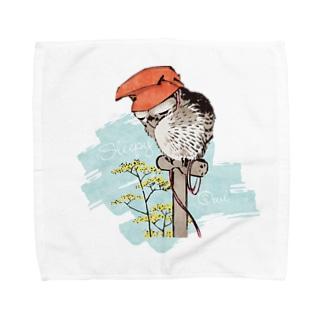 山鴞〜ふくろう〜 Towel handkerchiefs