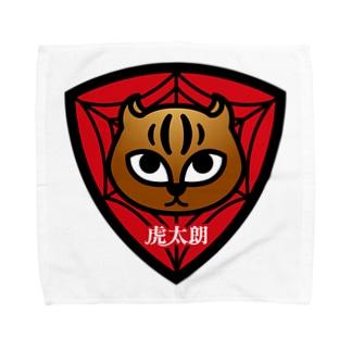 パ紋No.2938 虎太朗 Towel handkerchiefs