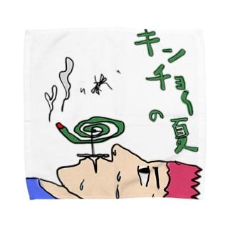 🦟緊張の夏 Towel handkerchiefs