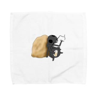 おさぼりさん Towel handkerchiefs