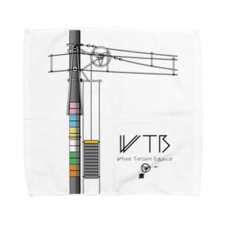 WTBと電柱(高崎エリア) Towel handkerchiefs