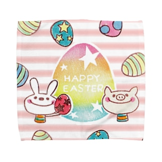 HAPPY EASTER Towel handkerchiefs