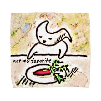 not my favorite Towel handkerchiefs