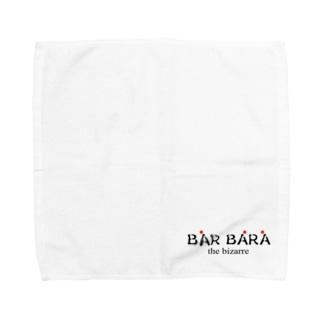 バルバラロゴシリーズ Towel handkerchiefs