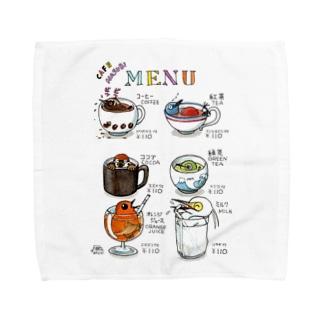 カップ鳥シリーズ Towel handkerchiefs