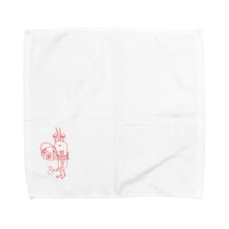 デリバリーロブスター Towel Handkerchief