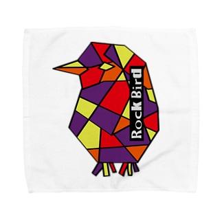 Rock鳥 Towel handkerchiefs