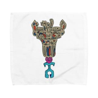 土器ッとBALANCE Towel handkerchiefs