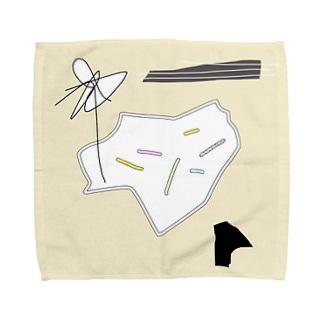 火口 Towel handkerchiefs