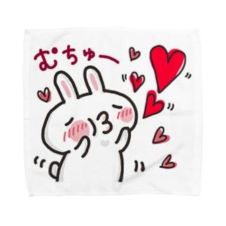 さるおとうさみ(うさみちゃん) Towel handkerchiefs