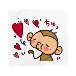 さるおとうさみ(さるおくん) Towel handkerchiefs