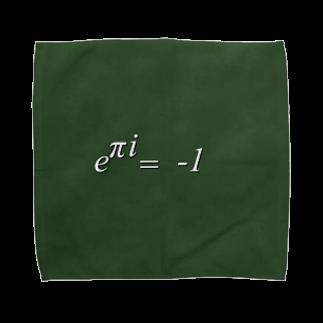 Gami_officialのオイラーの等式 Towel handkerchiefs