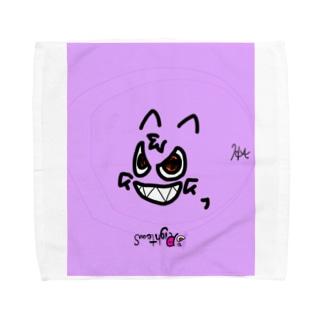 おばけ の ライトス Towel handkerchiefs