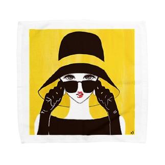 yellow Towel handkerchiefs