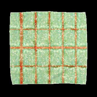 SILVERWOLFMENmixculturedesinの5月NEW「焼き立てメロンパン」 Towel handkerchiefs