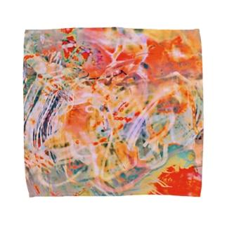 ④④ Towel handkerchiefs