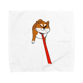 しば犬君 Towel Handkerchief