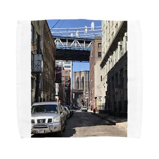 ブルックリンブリッジ Towel handkerchiefs