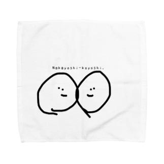 仲良しこよし Towel handkerchiefs