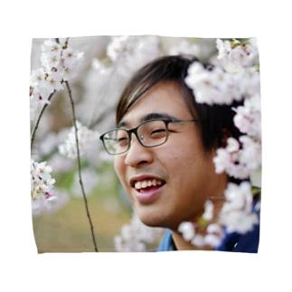 辛子明太子の桜と僕 Towel handkerchiefs