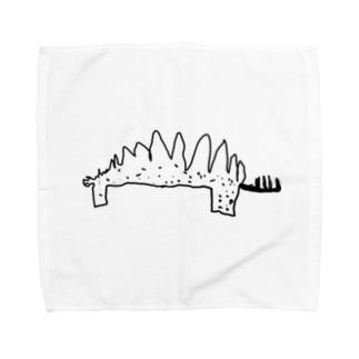 ステゴサウルス Towel handkerchiefs