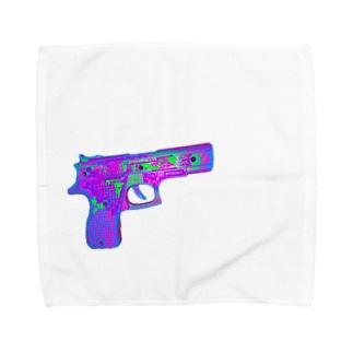 ピストルン Towel handkerchiefs
