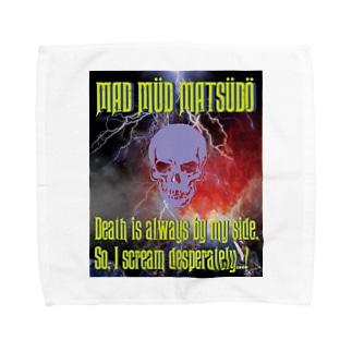 MAD MÜD MATSÜDÖシリーズ Towel handkerchiefs
