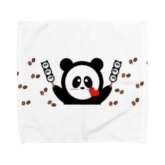 お団子大好き Towel handkerchiefs