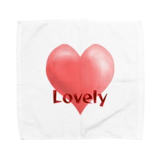 ラブリーハート Towel handkerchiefs
