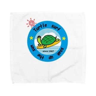 サーフィンカメさん Towel handkerchiefs