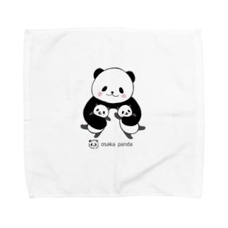 ふたごパンダ Towel handkerchiefs