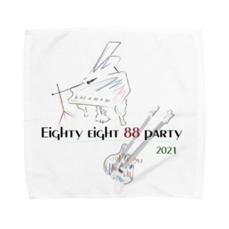 88LIVE ハンカチタオル Towel handkerchiefs