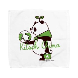 SAVE PANDA Towel handkerchiefs