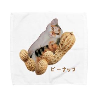 【D】ピーナッツ・大粒(L) Towel handkerchiefs