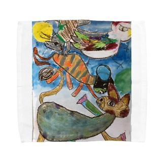ブレーメン Towel handkerchiefs